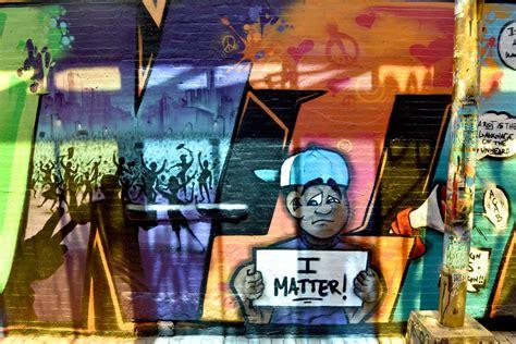 black lives matter murals  cambridges graffiti alley