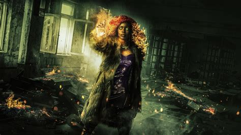 starfire  titans tv series  wallpapers hd wallpapers