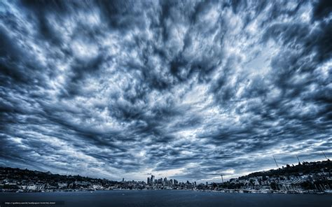 overcast sky 1920 x 1200 water photography download wallpaper sky clouds cloudy city free desktop
