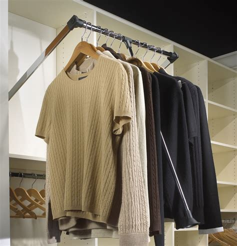 Closet Accessories by Louis Closet Co Pull Rods Make Even The