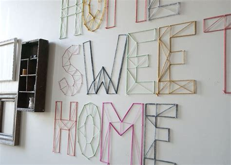 Nail And String Wall - diy nail and string wall quot the doll house