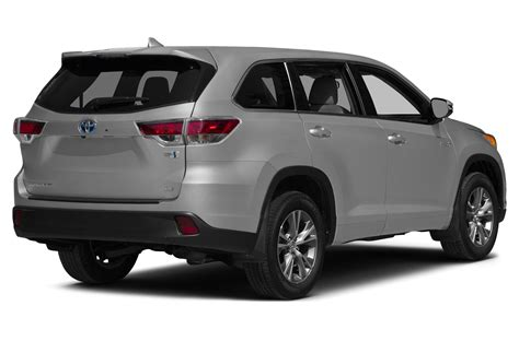 All Toyota Suvs 2015 Toyota Highlander Hybrid Price Photos Reviews