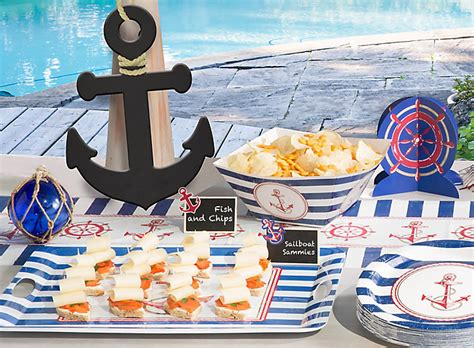 Party City Nautical Theme - nautical party ideas party city