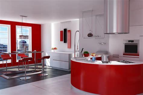 Welche Tapete Für Die Küche by W 228 Nde Farbig Orange Halbhoch Gestrichen