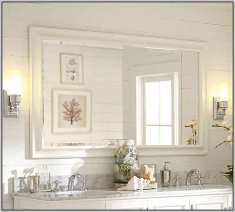 pottery barn bathroom mirrors pottery barn bathroom mirror home decorating ideas