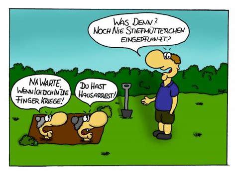 Garten Comic by Stiefm 252 Tterchen Spass Beiseite Natur Toonpool