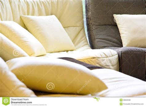 soft sofa cushions soft cushion in sofa royalty free stock photos image