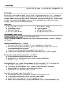 Caseworker Resume by Professional Social Services Senior Manager Templates To Showcase Your Talent Myperfectresume