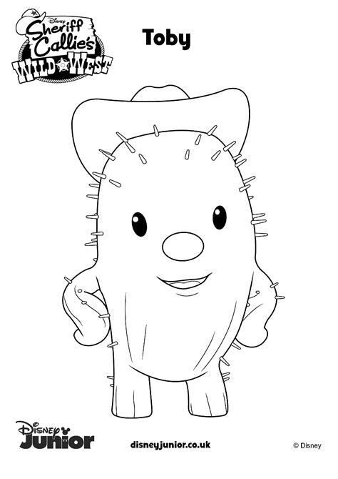 imagenes para colorear junior express dibujos de sheriff callie 180 s para colorear todo peques