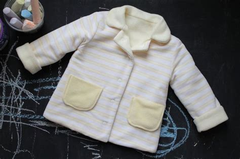 yellow jacket pattern yellow fleece jacket pattern from the sewing for boys