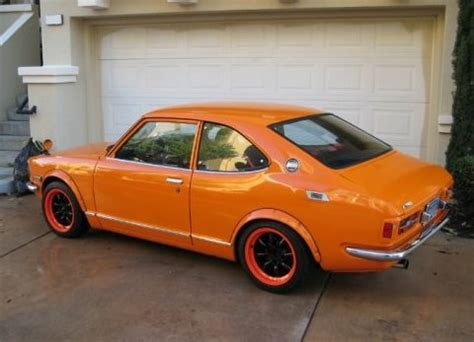 jdm look and turbo 1970 toyota corolla bring a trailer