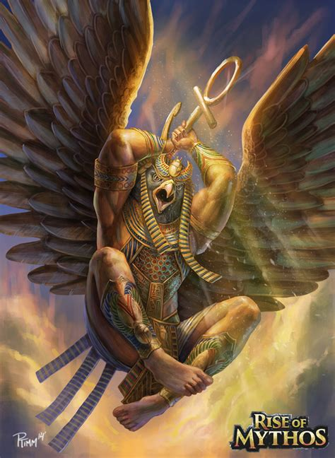 imagenes egipcias horus horus by ptimm on deviantart