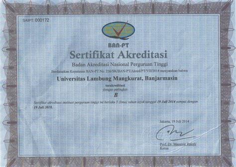 akreditasi institusi ulm