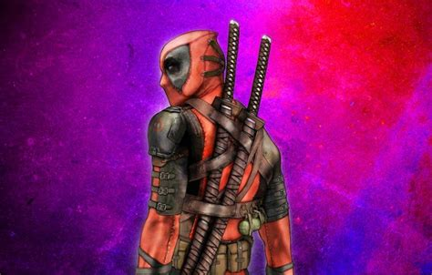 theme psp deadpool wallpaper deadpool mask katanas warrior swords images
