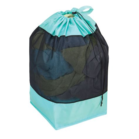 teal laundry essential home km00049 industrial laundry bag teal