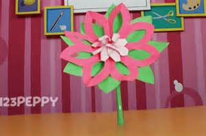 Lotus Flower Craft Flower Crafts Project Ideas 123peppy