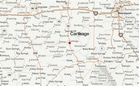 map of carthage texas carthage texas location guide