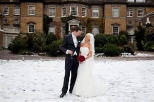 Dan s snowy wedding at hampton court house london hampshire wedding