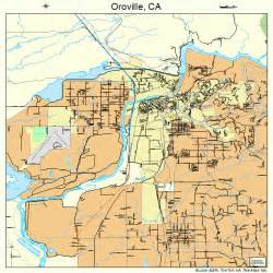 oroville california map 0654386