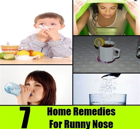 7 home remedies for runny nose diy home remedies