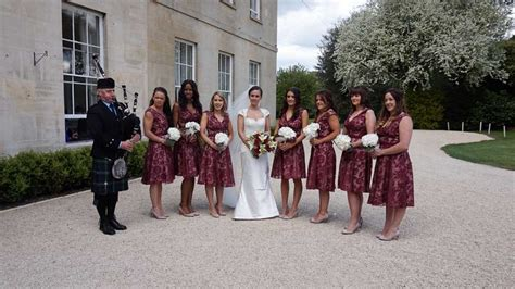 Wedding Aisle Bagpipes by Weddings Bagpipes By Cbell Bagpiper In South
