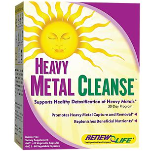 Do Detox Kits Work For Metals by Heavy Metal Cleanse 1 Kit By Renew At The Vitamin