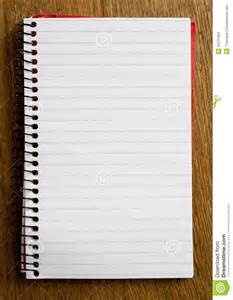 empty lined paper book stock images image 31575404