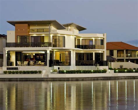 model desain foto gambar rumah mewah minimalis bibeh