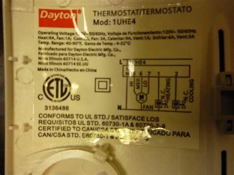 120v thermostat wire wiring diagram schemes