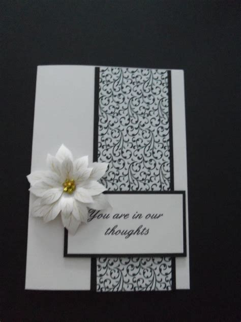 make sympathy card 33 best images about sympathy cards on