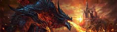 dragon fire breath fantasy   wallpaper