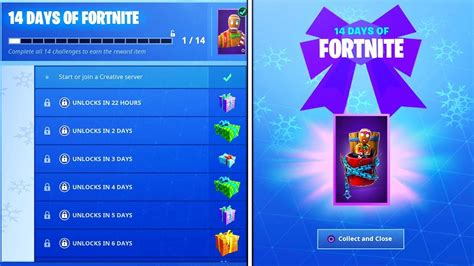 daily rewards  fortnite   days