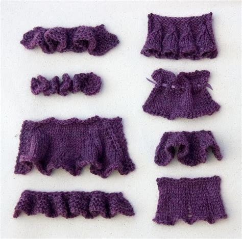 Ruffles Basic 1 ruffles how to knit and knits on