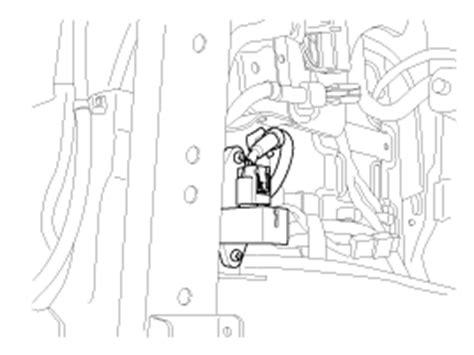 auto manual repair 2003 hyundai sonata seat position control hyundai sonata seat track position sensor stps repair procedures srscm restraint