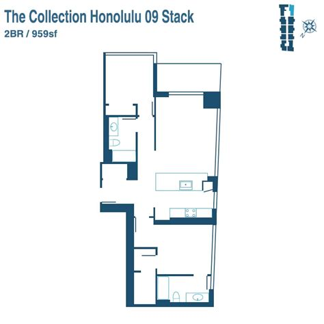 Floor Plan Collection by Collection Honolulu Condos For Sale A New Kakaako Condo