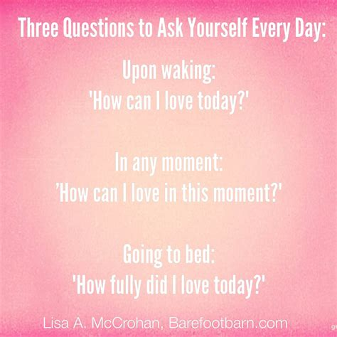 7 Things You Must Ask Yourself Before Getting A by Three Questions To Ask Yourself Every Day Mccrohan