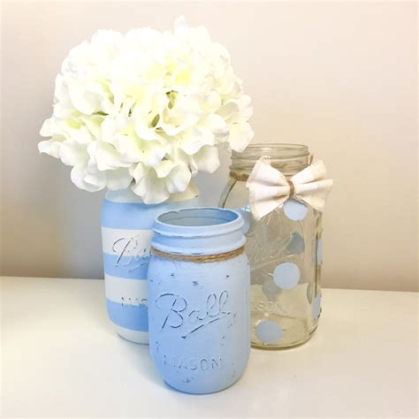 Jars For Baby Shower by Baby Shower Jar Centerpieces Baby Shower