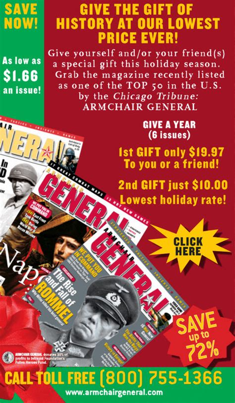 armchair general magazine armchair general magazine holiday offer armchair general