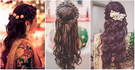 Indian Wedding Hair Half Up by 6 Half Up Half Hairstyles To Flaunt At A Wedding