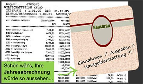Muster Jahresabrechnung Eigentumswohnung eigentumswohnungen jahresabrechnung