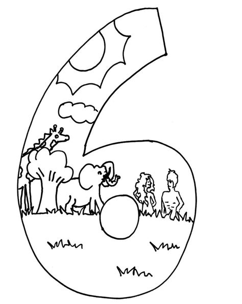 days of creation coloring pages creation days coloring page sundayschoolist