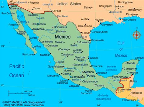 map of the mexico map of mexico with facts statistics and history