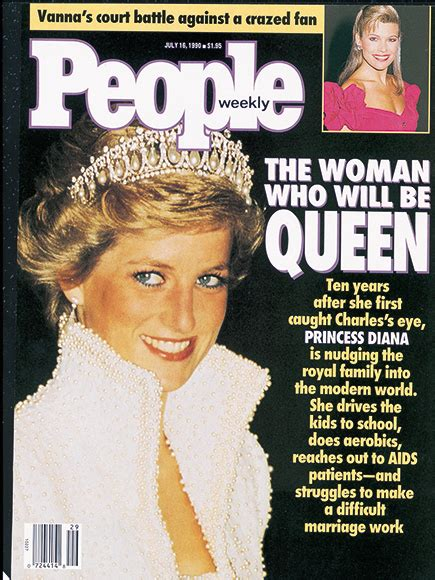 Zeitschrift Wedding by Princess Diana On The Cover Of Magazine