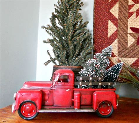 tree pick christmas pinterest trees and action 49 best images about red trucks on pinterest