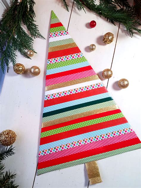 washi tape christmas craft washi decorating ideas for your home ziggity zoom family