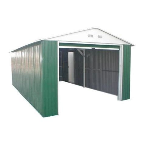 Metal Sheds At Home Depot by Duramax Building Products 12 Ft X 20 Ft Metal Utility