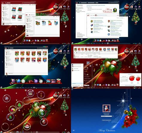 christmas themes pack for windows 7 decorate your windows for christmas and new year