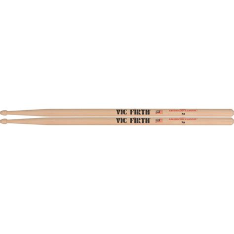 Usa Hickory 7a By Vic Firth vic firth american classic hickory drumsticks 7a 7a b h photo