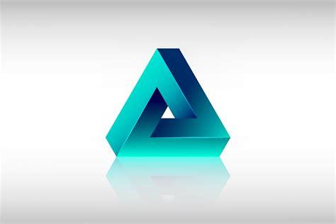 triangle pattern illustrator tutorial adobe illustrator cc new impossible triangle shape youtube