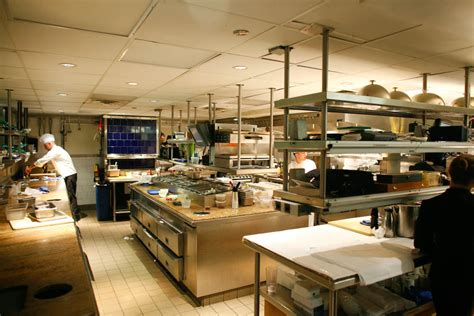restaurant kitchen design loving the ceiling mounted storage x design restaurant